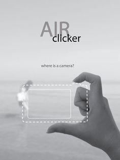 """""""Air Clicker"""" is acameraconcept byYeon Su..."""