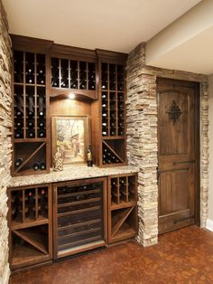 Home Remodeling Basement Wine Cellar 63 Ideas Basement Renovations, Home Remodeling, Basement Ideas, Basement Designs, Basement Decorating, Decorating Ideas, Basement Layout, Basement Makeover, Interior Decorating