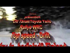Ott Tänak/Toyota Yaris - Rallye WRC - Top speed - Drift - Today in Jyväs...
