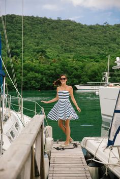 Stripes and boats