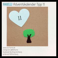 #Adventskalender #Tipp 11 - heute klein aber fein :). Ein Baum aus Filz zum dekorieren, weiter basteln oder einfach schön finden. Weitere Motive in unserem #NOI Ladengeschäft in der Schanzenstraße 81. #Hamburg #Filz #Geschenke #Advent