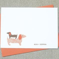 doxie stationery