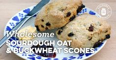 Wholesome Gluten-Free Sourdough Oat And Buckwheat Scones