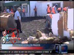 """Obras Pública rellena el """"cráter"""" de Los Prados #NoticiasTelemicro #Video - Cachicha.com"""