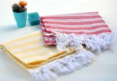 Beach Fouta Handmade Towel 2 PCS Gift For Mom Hand by PESHTEMALIA, $20.95