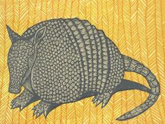 Armadillo Armadillo, Drawing Sketches, Sketching, Drawings, Animal Illustrations, Illustration Art, Texas Quilt, Tangle Art, Desenho Tattoo