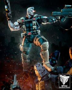 Nathan (Cable) Summers by Tiago Zenobini Marvel Comics, Marvel Heroes, Anime Comics, Cable Xmen, Cable Marvel, Marvel Comic Character, Marvel Characters, Marvel Universe, Nathan Summers Cable