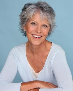 styles for wiry gray hair  short hair women over 50