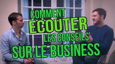 Entrepreneurs : Comment ÉCOUTER les conseils quand vous créez votre BOÎTE ? : https://www.youtube.com/watch?v=WN-30xWRwC4 ;) #business #entrepreneur