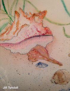 Watercolor Original / Jill Tyndall