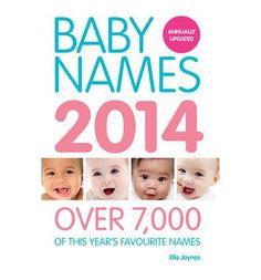 Baby Names 2014 by Ella Joynes
