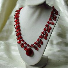 Red, Red, Red Necklace