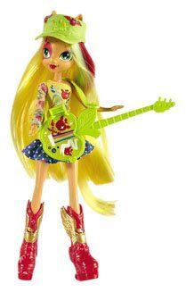 My Little Pony Equestria Girls Applejack With Guitar