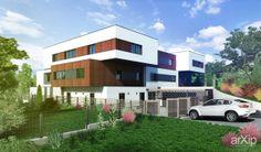 Многосемейный дом в Петрозаводске.: архитектура, жилье, 3 эт   9м, минимализм, 500 - 1000 м2, фасад - кирпич, фасад - дерево, коттедж, особняк #architecture #housing #3floors_9m #minimalism #500_1000m2 #facade_brick #facade_wood #cottage #mansion arXip.com