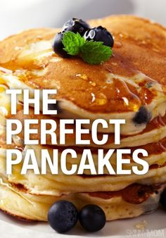 These are the PERFECT pancake to start your morning!