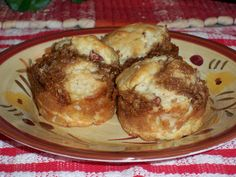 Streusel Filled Apple Muffins   and book review for Guilty Pleasures - Indulgences to Die For!