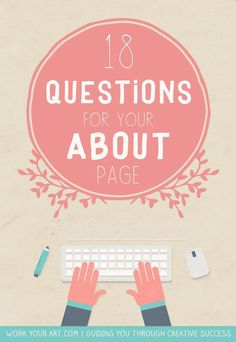 18 questions that will help you write your About page