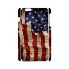 Hot Custom Hard Case USA flag for I phone 6, I phone 6S, I phone 5 #UnbrandedGeneric