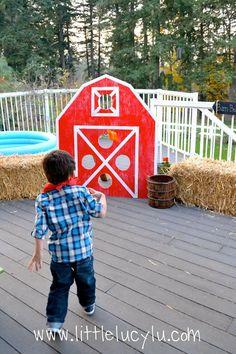 Cute party ideas: barnyard fun