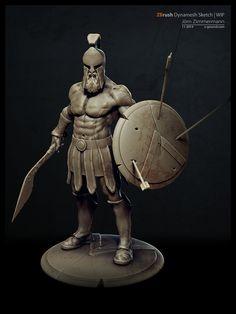 Badass Character Design by Joern Zimmermann