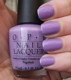 Lavendar nails are a must in my book(;