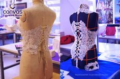 Swiss designers harness 3D printing pen power for gorgeous 3D printed dresses and corsets