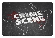 Murder Scene Pet Mats for Food and Water by Lunarable, Crime Scene Words on Outline of Victim Homicide Bloody Killing, Rectangle Non-Slip Rubber Mat for Dogs and Cats, Charcoal Grey Maroon White *** You can get additional details at the image link.(It is Amazon affiliate link) #tagsforlikesfslc