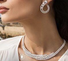 Face Jewellery, Ear Jewelry, Jewelery, Diamond Chandelier Earrings, Diamond Dreams, Jewelry Model, Necklace Designs, Luxury Jewelry, Wedding Jewelry