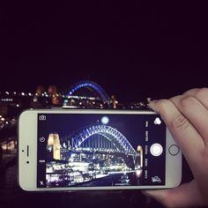 The Sydney Harbour Bridge #sydneyharbourbridge #nightview #australia #sydney #visitsydney #queesland #hellosummer by vannnteh http://ift.tt/1NRMbNv