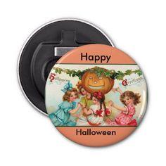 Happy Halloween Vintage Graphics Bottle Opener