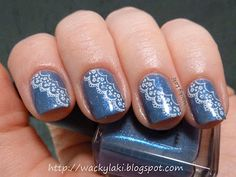 Love these! This was the inspiration for my mani today. :)