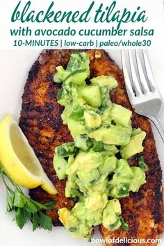 30 Easy Tilapia Fish Recipes for dinner which are extraordinarily healthy Looking for Seafood Recipes for dinner. Here are easy & best Tilapia Fish recipes for Dinner. These Tilapia Fish recipes are extremely healthy & delicious. Best Fish Recipes, Tilapia Fish Recipes, Paleo Recipes, Cooking Recipes, Healthy Fish Recipes, Paleo Food, Whole Fish Recipes, Fish Recipes Low Sodium, Talapia Recipes Easy