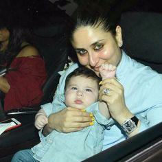 Taimur with Kareena At Laksshya's Birthday