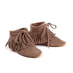 Anniel Fringe ankle-boots @smallable