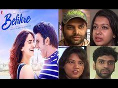 BEFIKRE public review | Ranveer Singh, Vaani Kapoor. Ranveer Singh, Public, Baseball Cards, Youtube, Youtube Movies