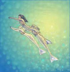 H2O just add water mermaids!