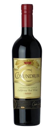 conundrum wine red - Google Search
