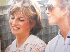 Diana and Sarah- they were good friends.