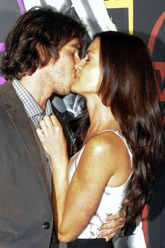Ben Flajnik and Courtney Robertson make out at Night of a Billion Reality Stars bash