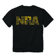 NRA T-shirt http://www.exploreproducts.com/buckwear-NRA-word-fill-tshirt.htm (check out the wording in the NRA logo)