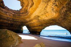 Algarve Tipps Benagil Höhlen