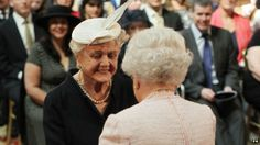 Dame Angela Lansbury and the Queen ~ 04/16/14