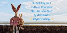 """⚡️#MysteryChallenge ⚡️The best thing that I could ever do for you is: """"To Listen to You More"""" by Jeff Tehrani (Thank you for doing this!)"""