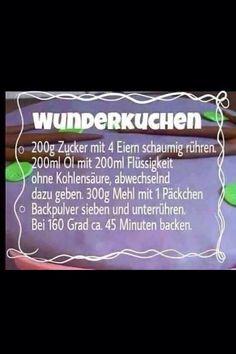 Wunderkuchen... - http://tassenkuchen-selber-machen.de/allgemein/wunderkuchen/                                                                                                                                                     Mehr