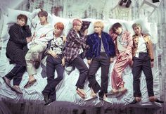 BTS Photoshoot 'Wings'