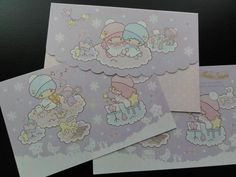 Sanrio Little Twin Stars Musical Delight Letter Set