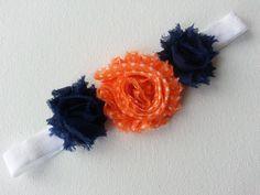 Auburn Baby Headband Denver Broncos Baby Headband by Alanahsattic, $6.50