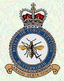 Copy of 220px-RAF_Butterworth_Crest Company Letterhead Template, Raf Bases, Imperial Japanese Navy, Butterworth, Military Insignia, South Vietnam, Royal Air Force, Crests, Coat Of Arms