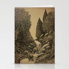 Bear Creek || Terry Fan  Stationery Cards