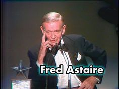 Fred Astaire Accepts the AFI Life Achievement Award in Gone but not forgotten. Much well deserved award to the worlds best dancer. A Fine Romance, Mikhail Baryshnikov, Rudolf Nureyev, Musical Film, Lifetime Achievement Award, Gene Kelly, Shall We Dance, Dance Choreography, Fred Astaire